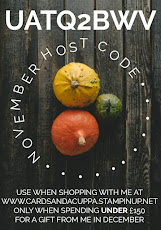 Hostess Code for your November Stampin' Up! Shopping is KJARMCTQ