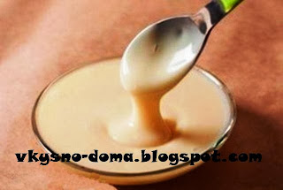 Домашнее сгущённое молоко
