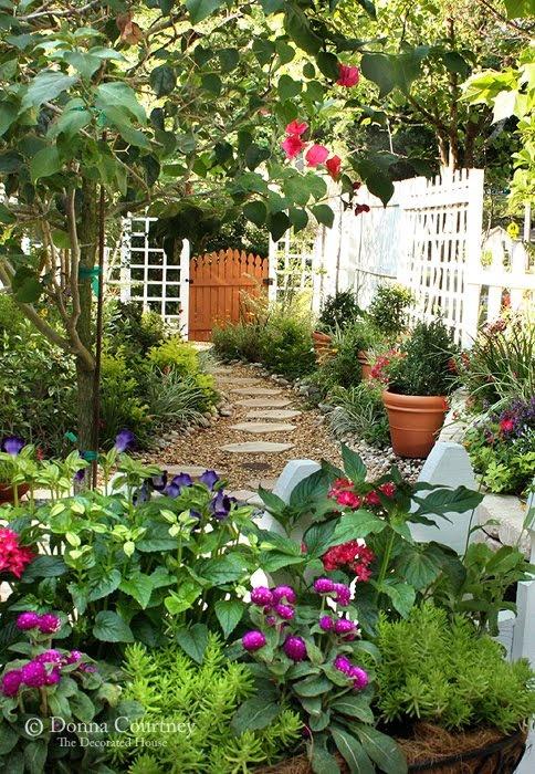 plantas de jardín - diseño y decoración de jardines : jardín y