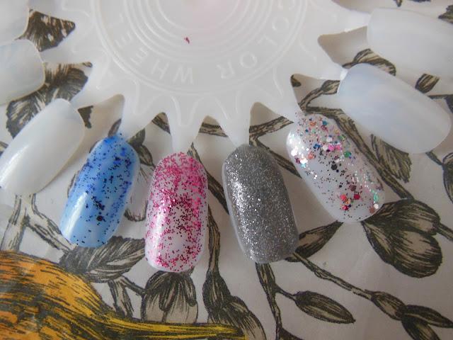 LOreal glitter nail polish swatches