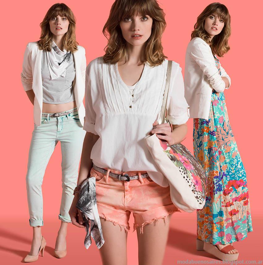 Moda primavera verano 2015, colección Yagmour primavera verano 2015 ropa de mujer y accseorios. Moda 2015.