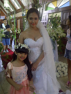 Bangs Garcia in her wedding dress (Kung Ako'y Iiwan Mo Finale)