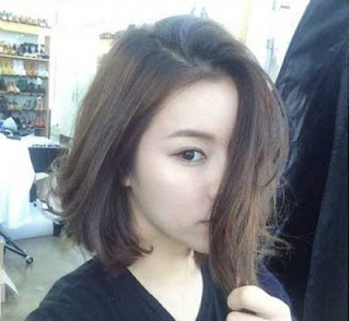 model rambut pendek wanita asia short brown straight