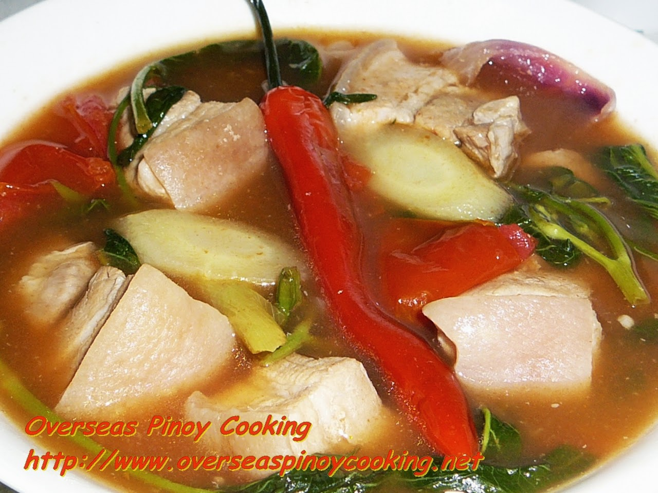 Red Sinigang na Baboy