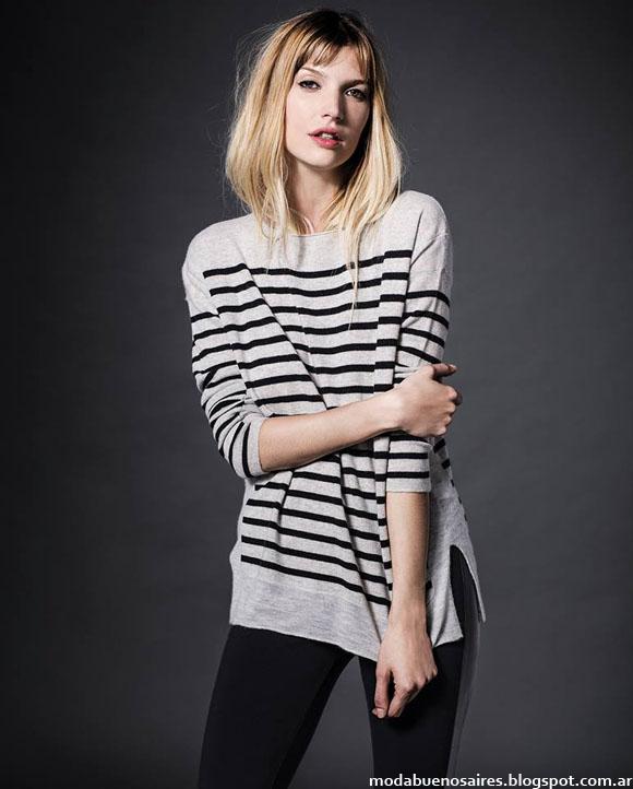 Moda otoño invierno 2014 sweaters Etiqueta Negra.