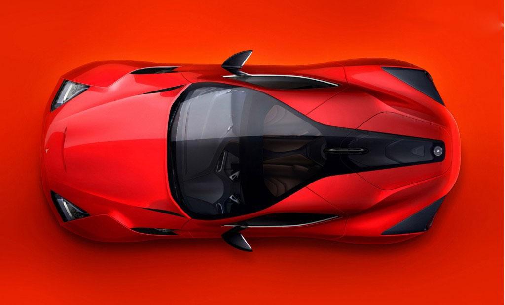 car in 2013 Icona Vulcano Concept
