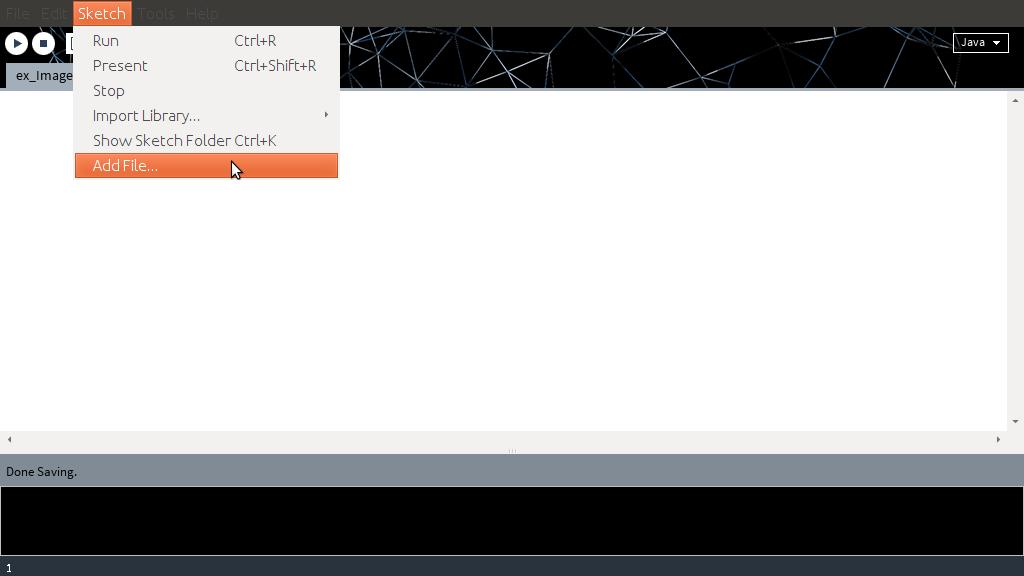Arduino er processing exercise display image
