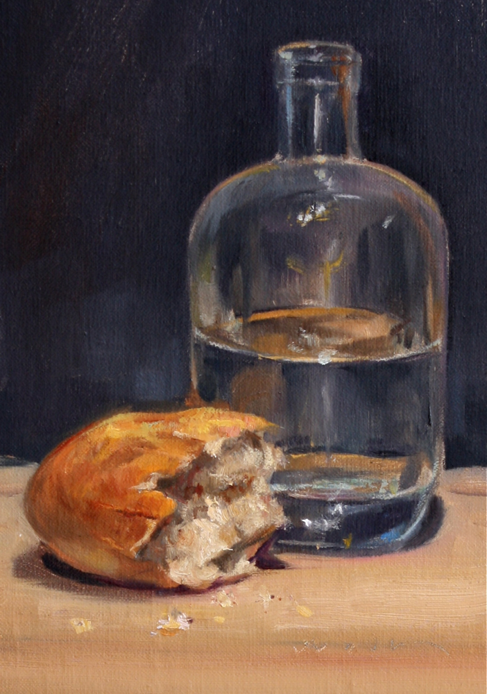 Paintings by Jason Waskey: Bread and Water (sold)