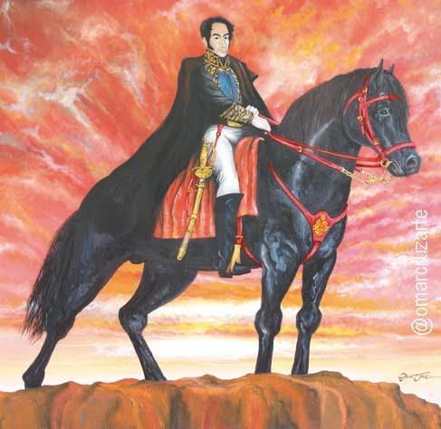 Bolívar en la gloria