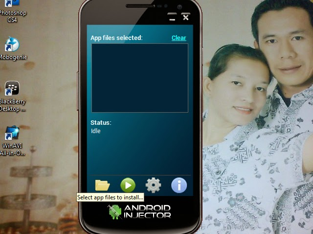 instal game menggunakan android injector