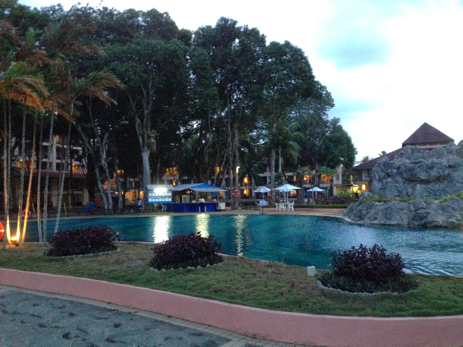 Swimming pool in The Legend Cherating