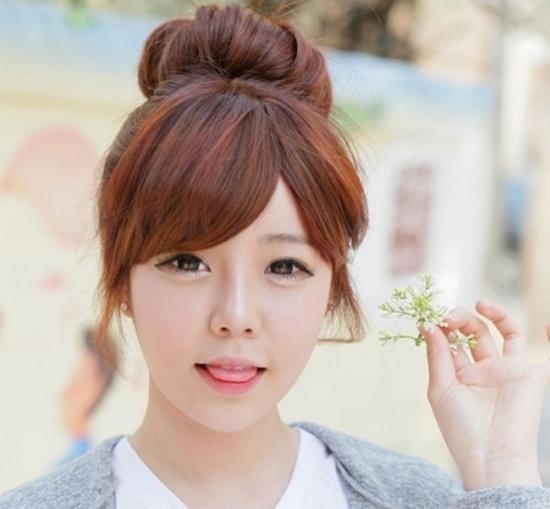 Các kiểu tóc đẹp, hợp với cô nàng có gương mặt tròn