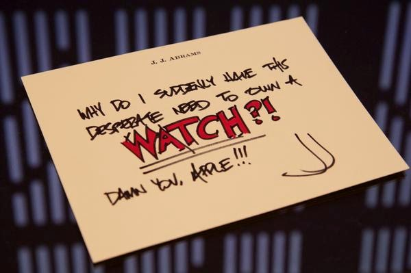 JJ Abrams Apple Watch