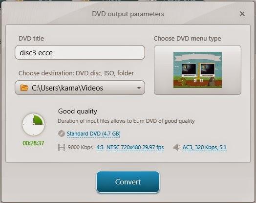 Ubah Video Menjadi VOB untuk DVD Player
