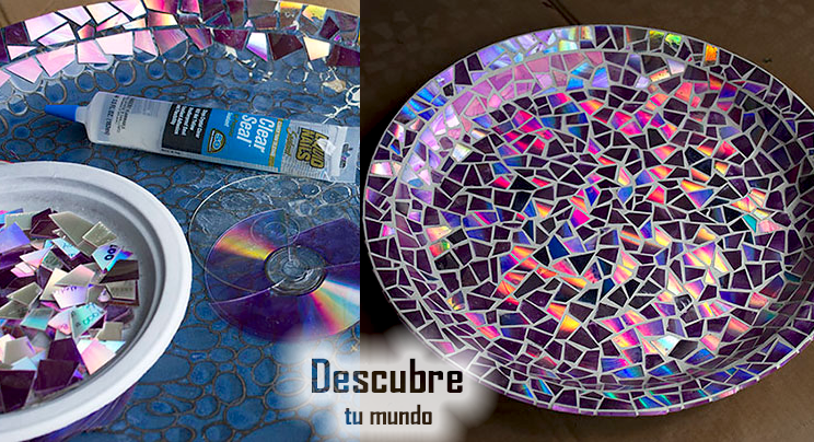 Descubre tu mundo preciosas ideas de bricolaje y - Reciclaje manualidades decoracion ...