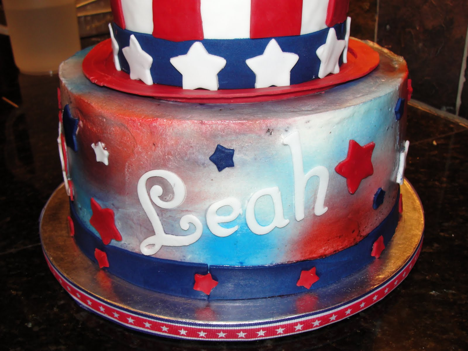 The Shank Family 4th Of July Birthday Cake