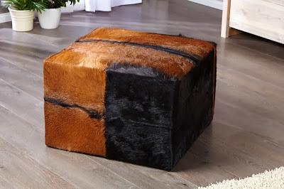luxusna taburetka, male sedenie, dizajnovy nabytok z koze, kozena sedacka