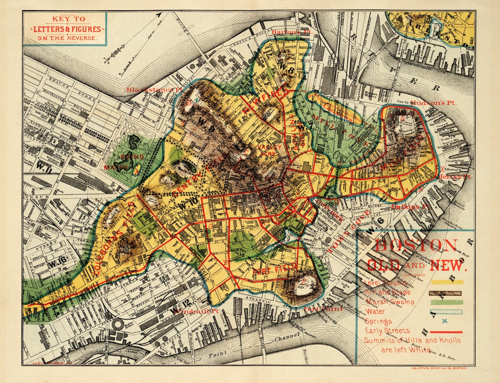 Reading the City Superimposing Maps