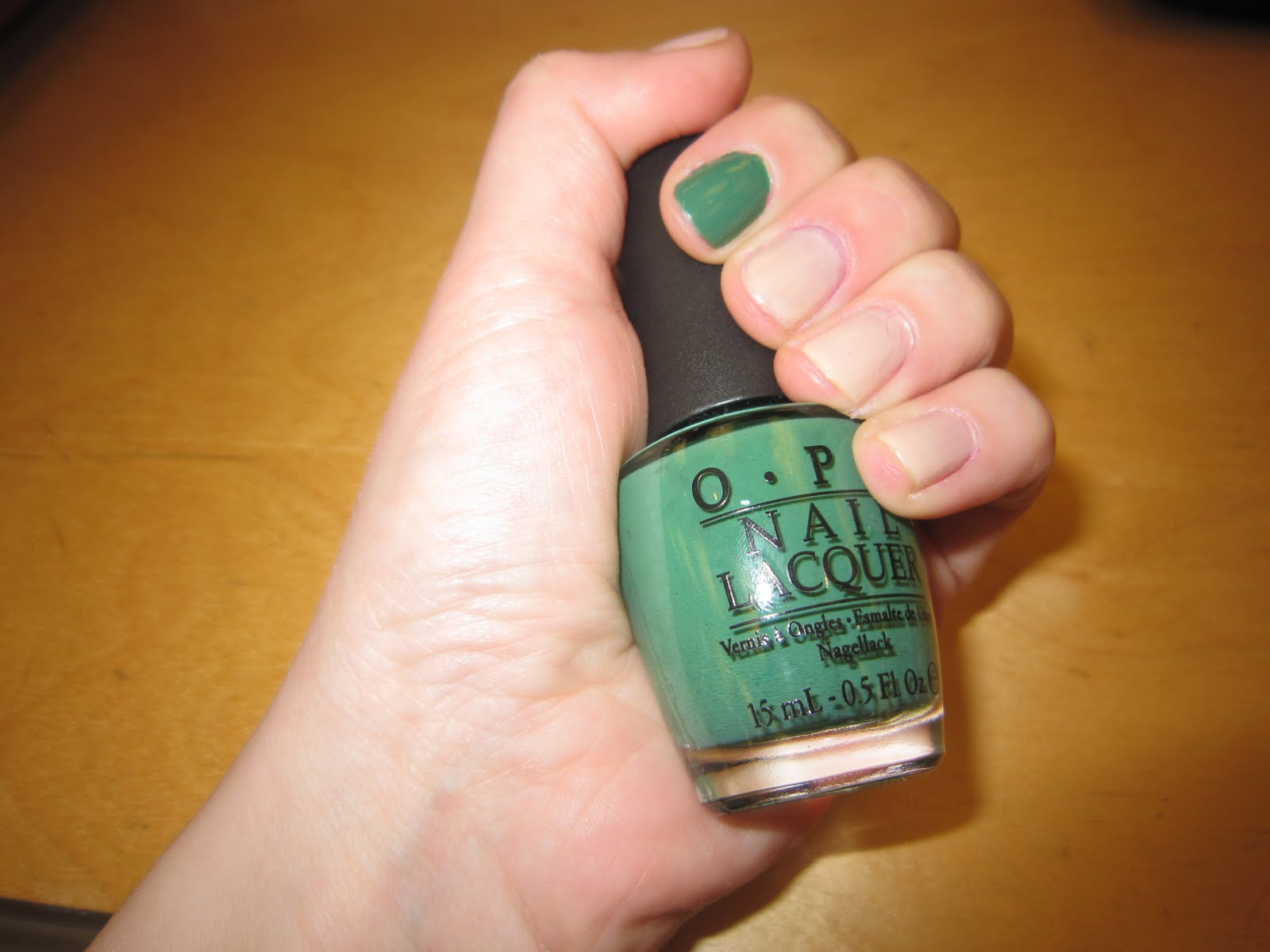 The Beauty of Life: Mani of the Week: CND Putty with OPI Don\'t Mess ...