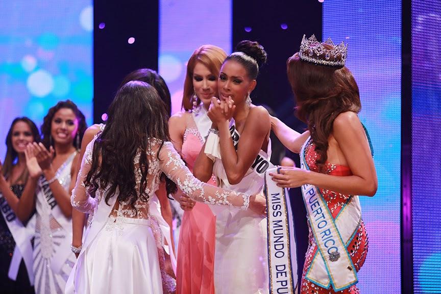 Miss Mundo de Puerto Rico World 2014 winner Genesis Maria Davila Perez