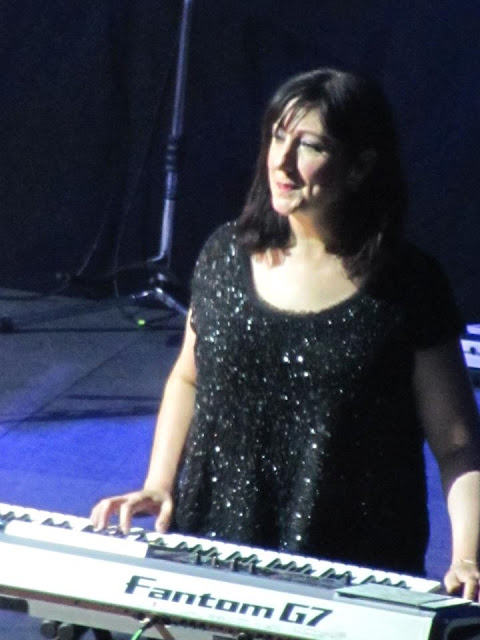 Gillian Gilbert performing on keyboard for Toronto New Order fans.