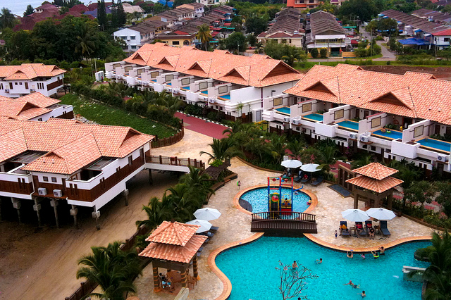 My life my loves info vacation grand lexis for Garden pool villa grand lexis pd
