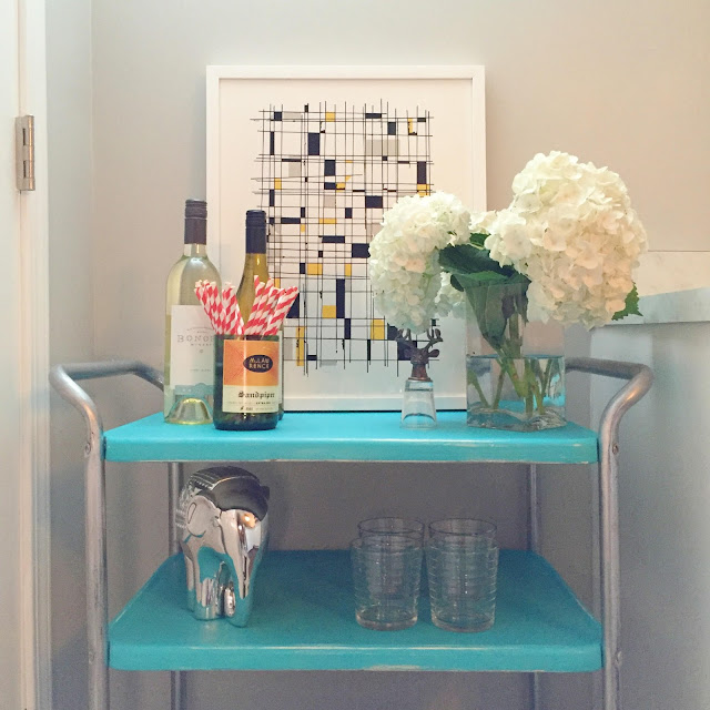 Minted-Art-Bar-Cart