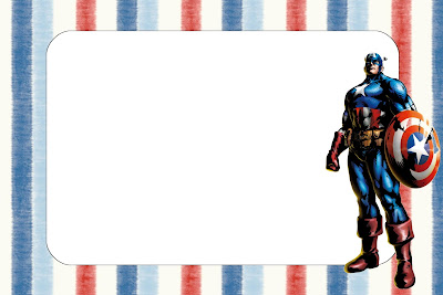 Captain America: Free Printable Invitations. | Is it for PARTIES ...