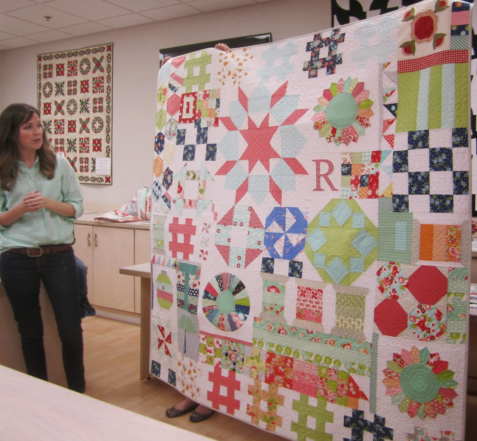 camille roskelley's orphan block quilt