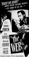 The Web 1947 Film Poster