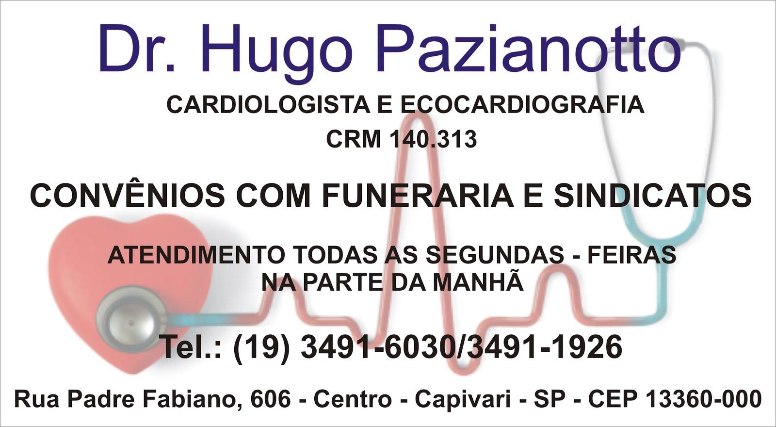 DR. HUGO PAZIANOTTO