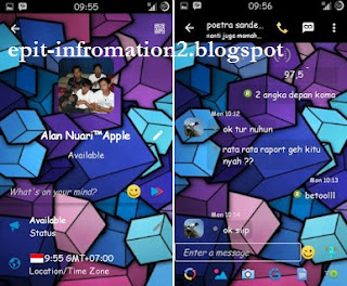 BBM Mod Zeny Cube v2.9.0.45 Apk + On/Off Full picture