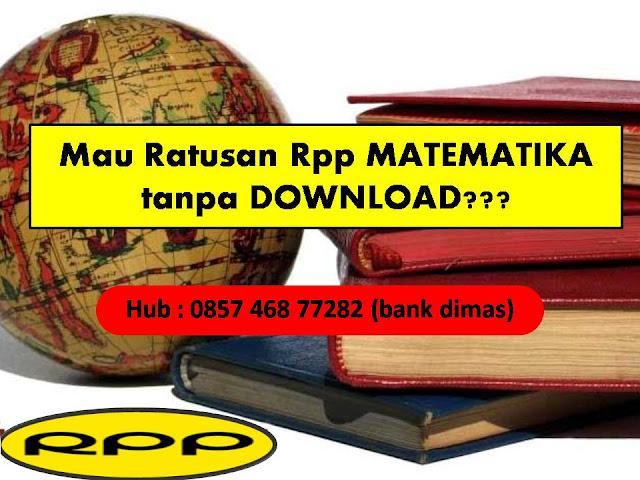 free downlooad RPP Matematika