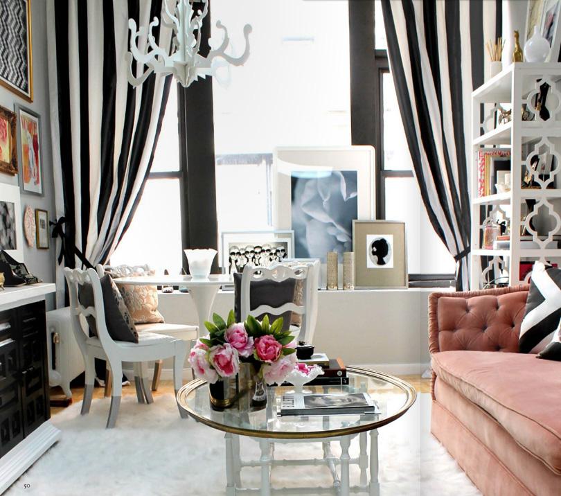 Tende per soggiorno bianco e nero ~ neburisky.net