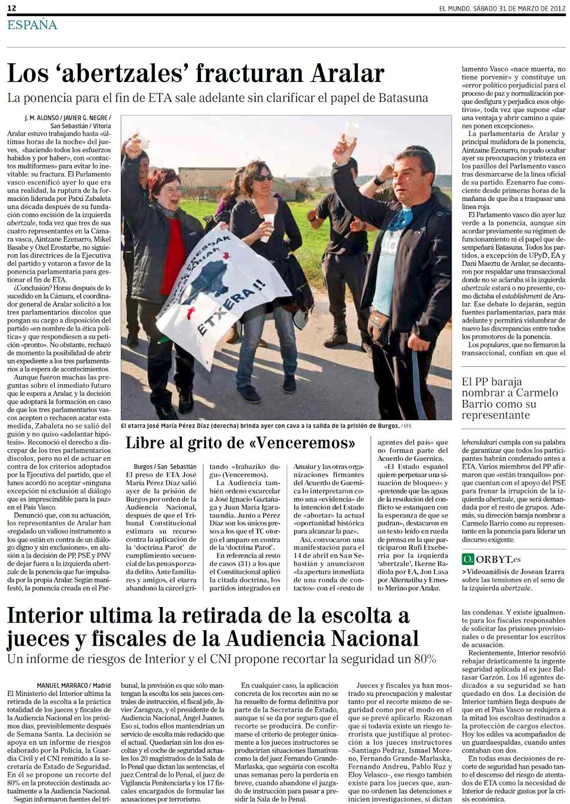Rubalcaba comanda sus apéndices sindicales para provocar el caos que nos equipare a Grecia impidiendo la creación de empleo