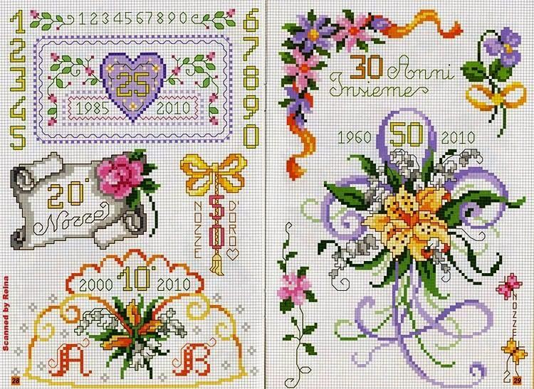 Ben noto Hobby lavori femminili - ricamo - uncinetto - maglia: Schemi  GG86