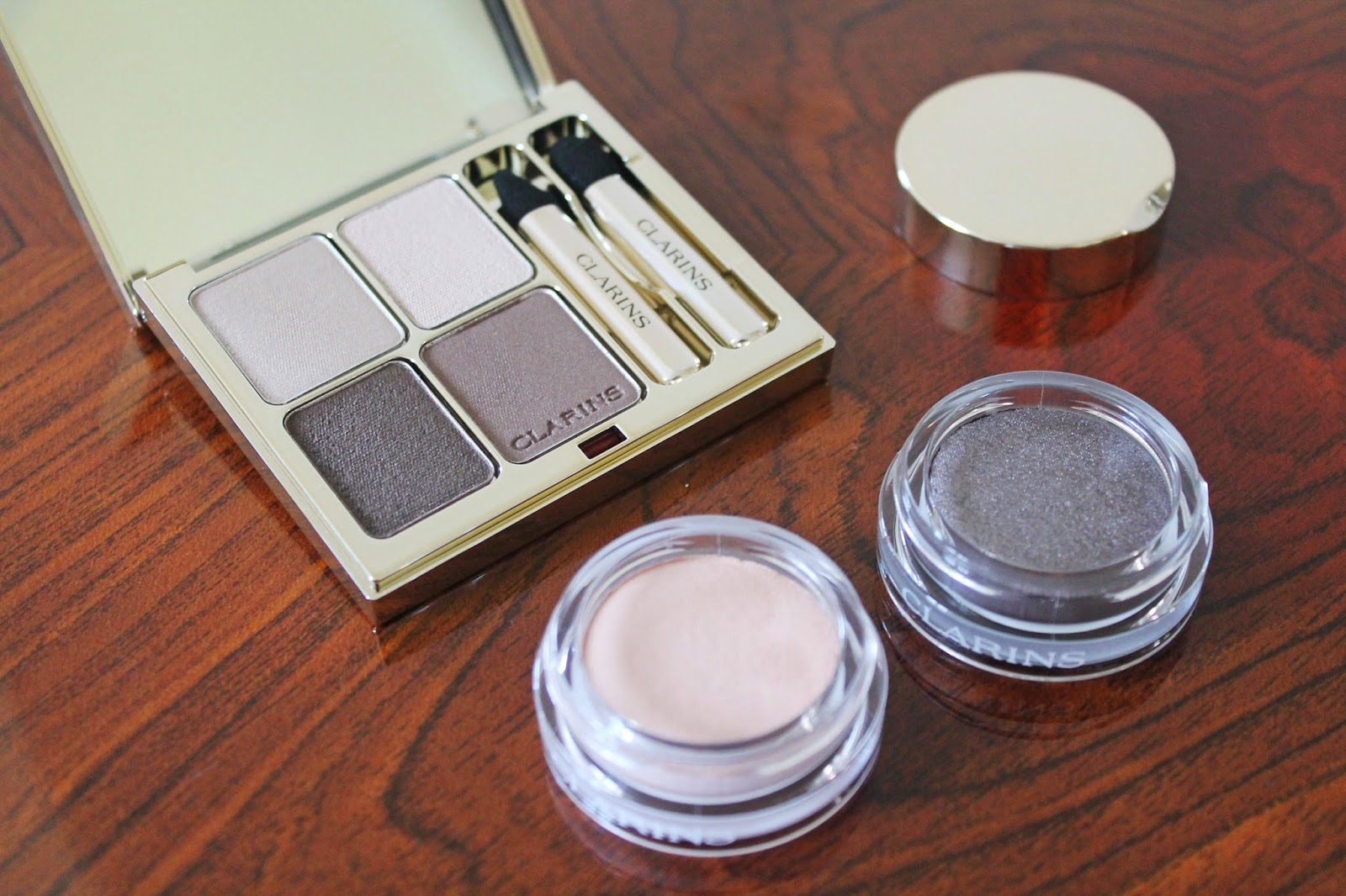 Clarins Ladylike Autumn Makeup Eyeshadow Collection Review - Aspiring Londoner