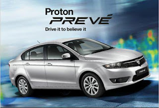 Drive Test Proton Preve