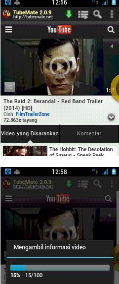 Cara Download Video Youtube Di Android Dengan Tubemate