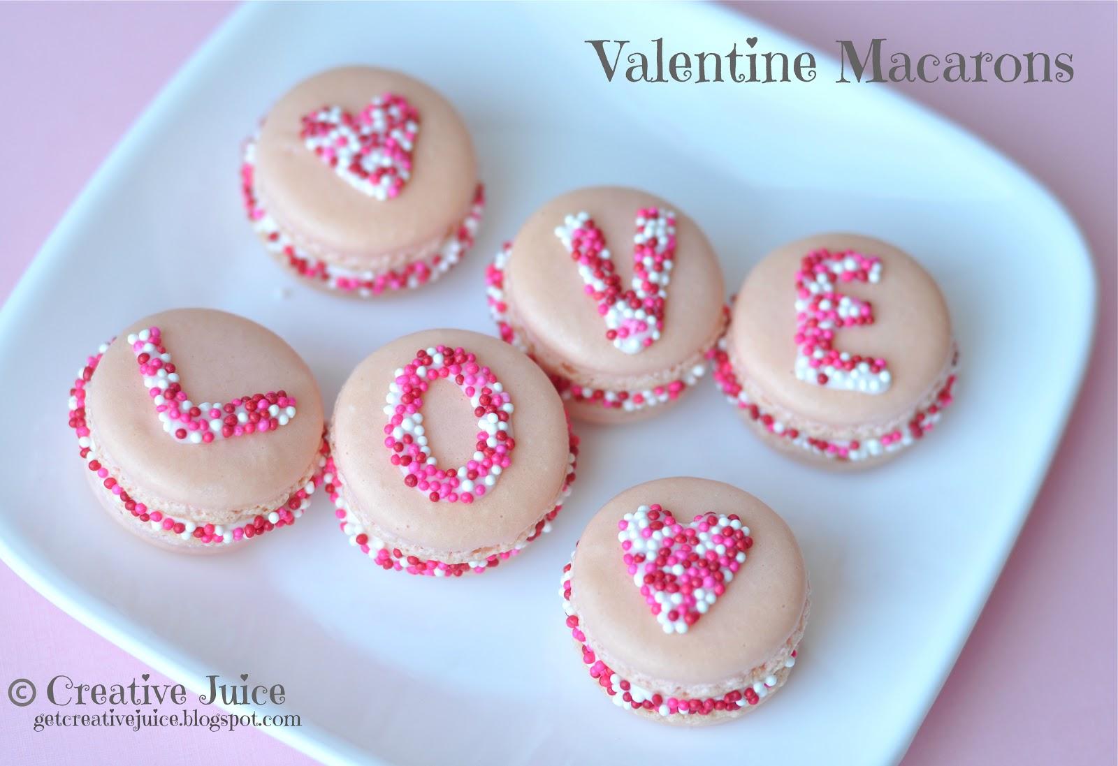 {TUTORIAL}. VALENTINE. Sprinkle. MACARONS
