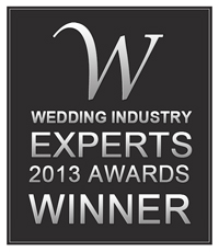 Wedding Industry Expert Awards WINNER 2013