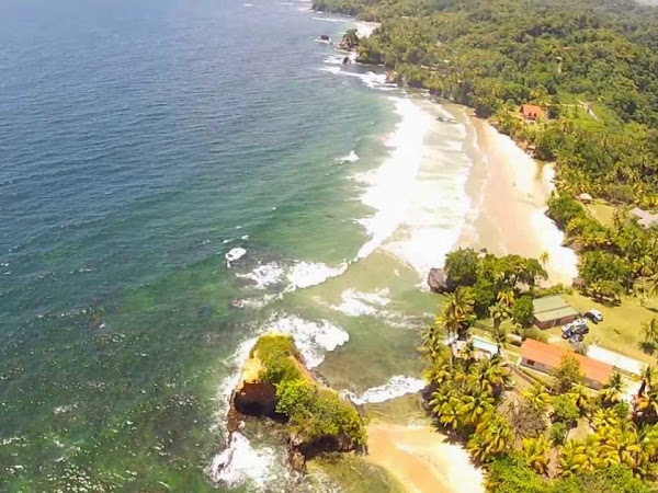 Trinidad's Greenish Tinge Beaches