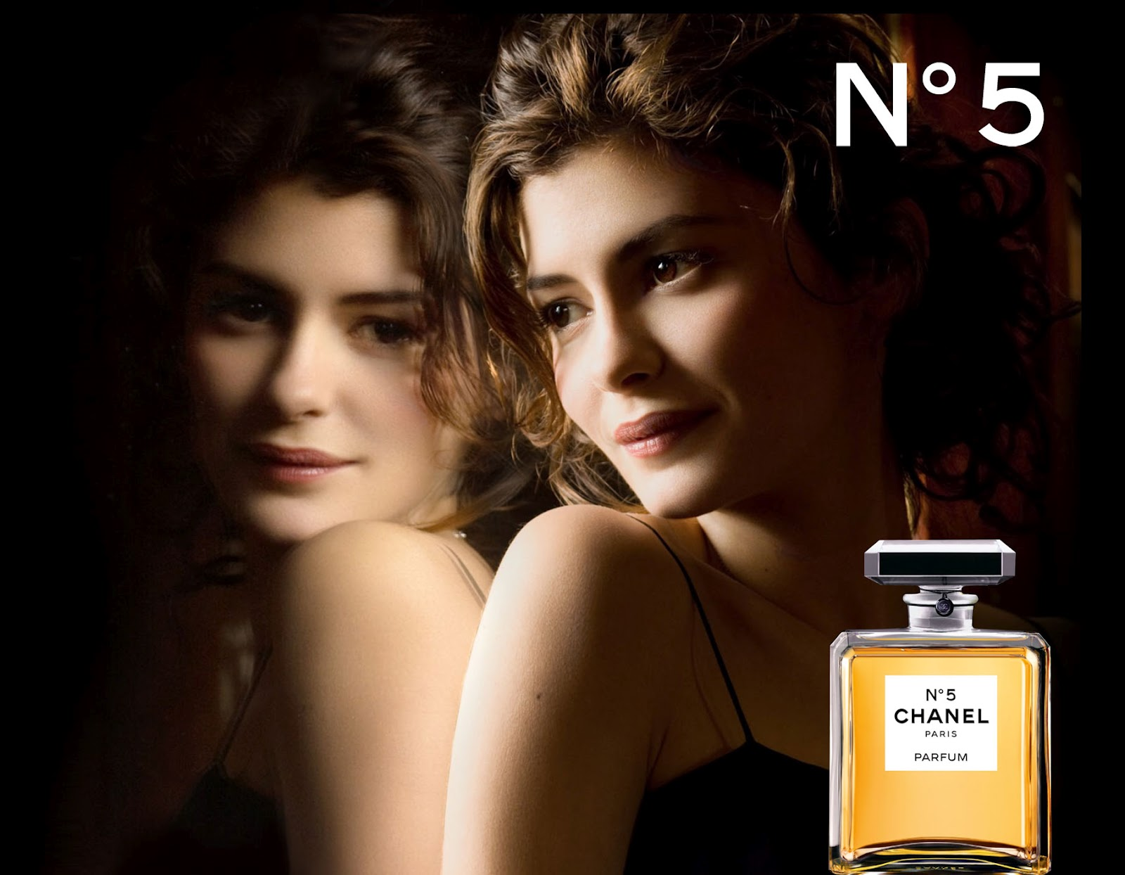 the face of beauty celebrity fragrance audrey tautou is. Black Bedroom Furniture Sets. Home Design Ideas
