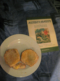 Scones and an invitation to a museum exhibition