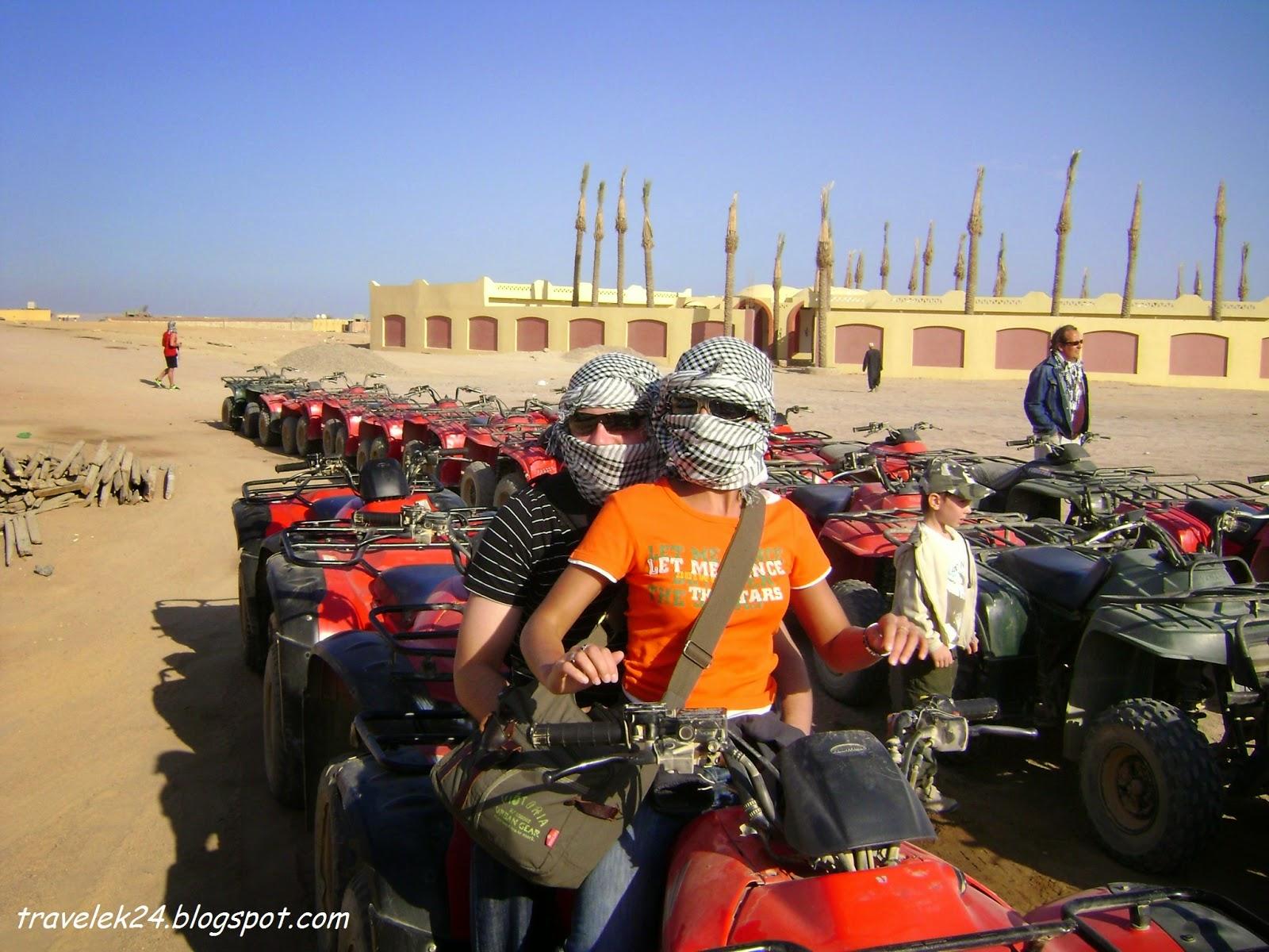 Quad Safari, Hurghada Egipt