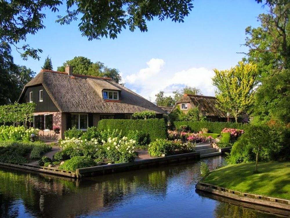 Деревня Гитхорн. Фото