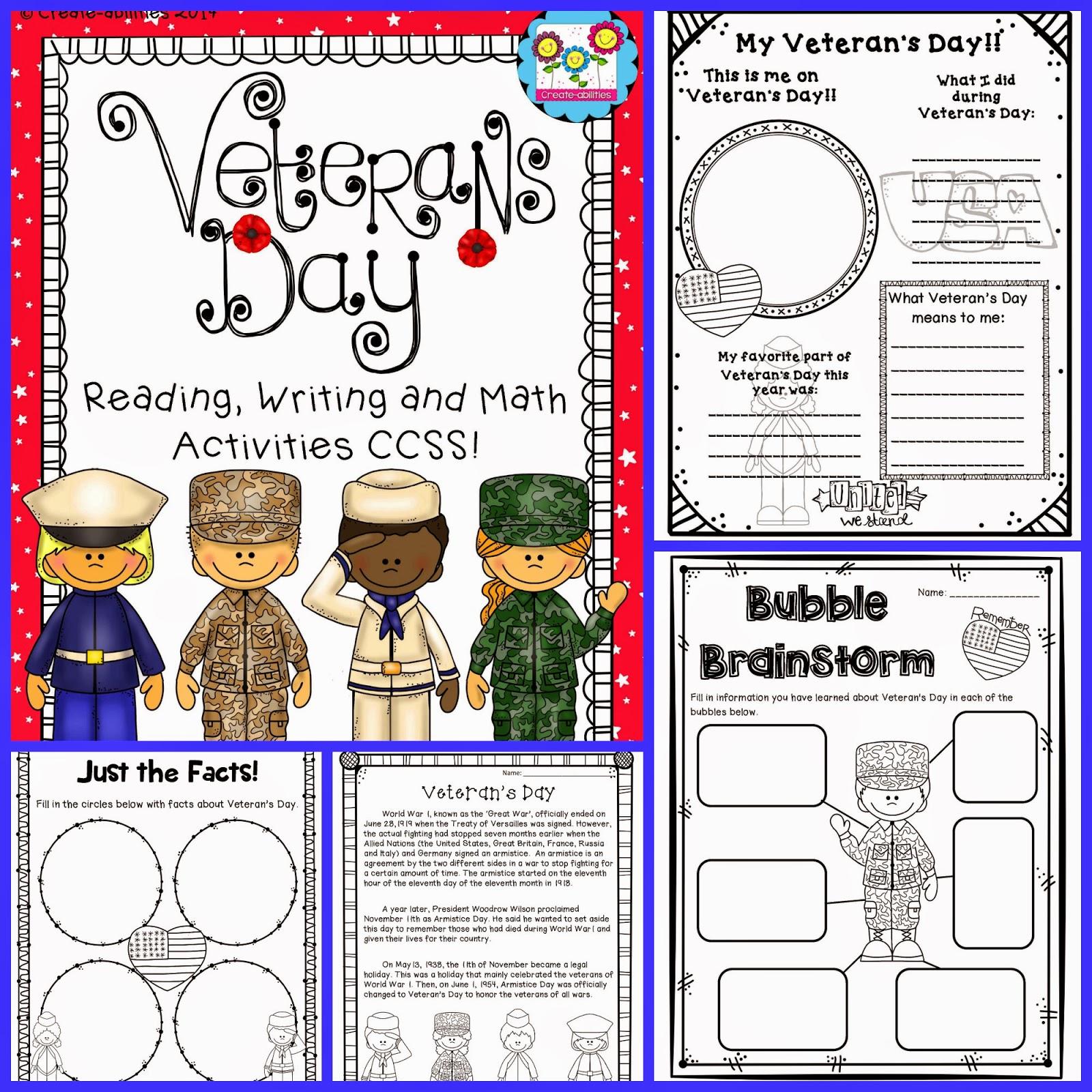 http://www.teacherspayteachers.com/Product/Veterans-Day-Mega-Pack-1475807