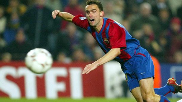 Marc Overmars no hizo nada destacable en el FC Barcelona
