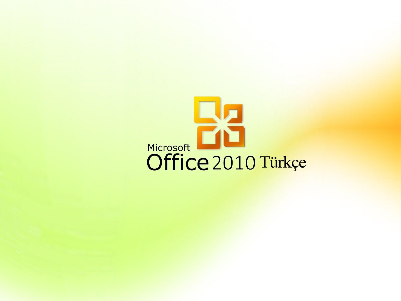 Microsoft Office 2010 Türkçe dil yamasını indirin.