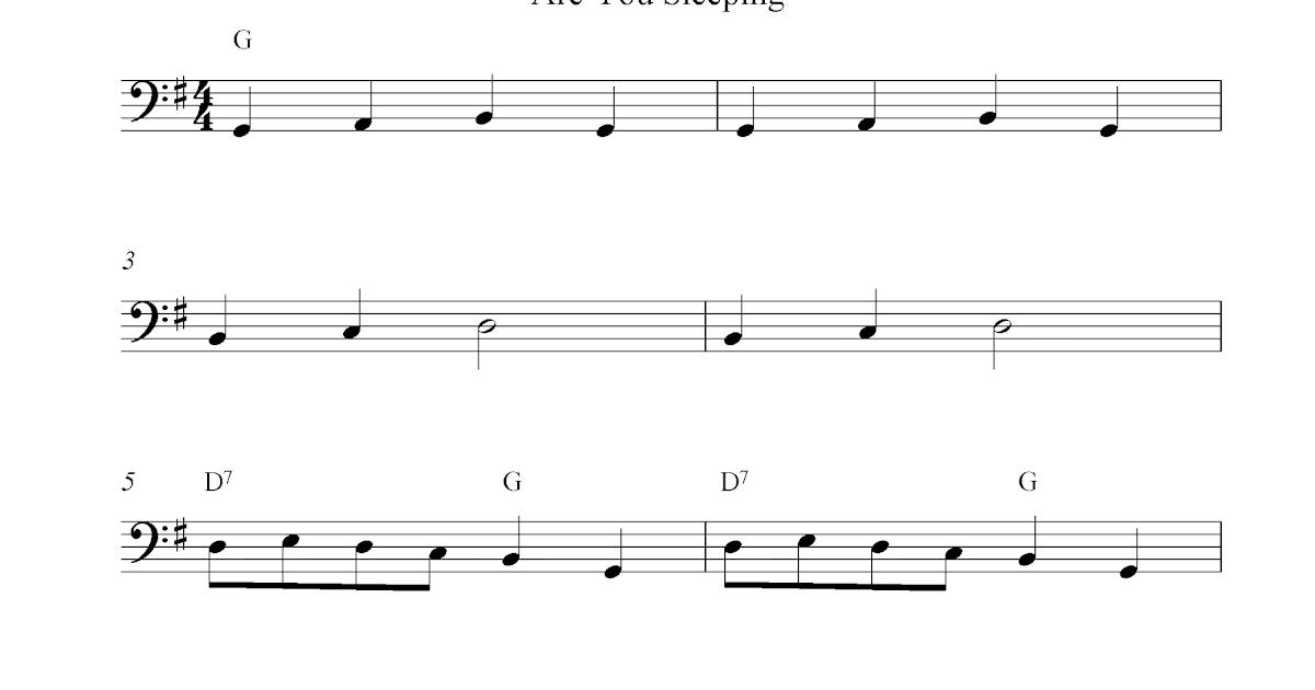 are you sleeping sheet music pdf